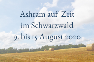 Yoga Retreat im Schwarzwald August 2020